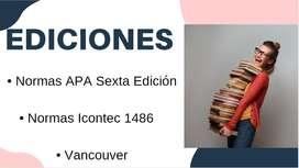 """Corrección de proyectos """"Normas APA """""""
