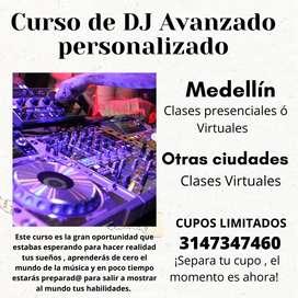 CURSO AVANZADO DE DEEJAY DJ - PERSONALIZADO