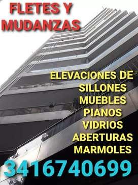 Flete, elevaciones en Rosario