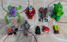 Vendo todos estos juguetes todos por S/12