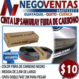 CINTA LIP SAMURAY FIBRA DE CARBONO