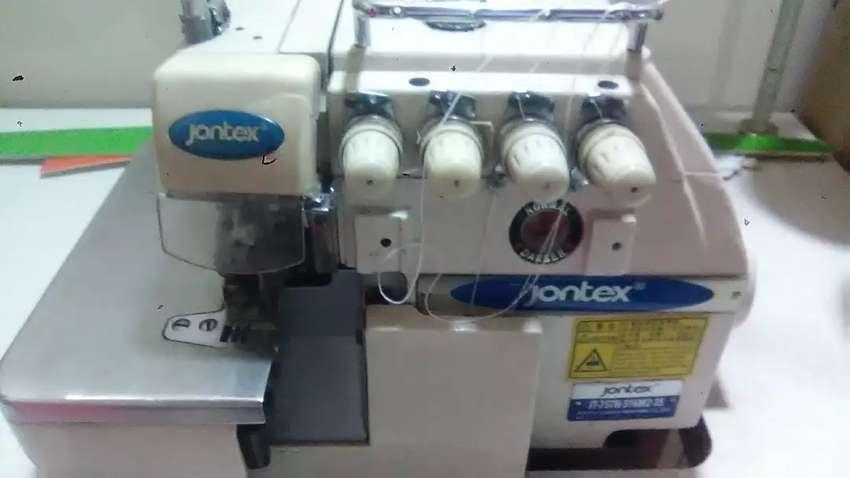 Maquina fileteadora industrial 0