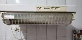 Purificador de aire - extractor de cocina