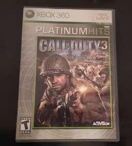 Call Of Duty 3 [Platinum Hits] - Xbox 360 (Retrocompatible con Xbox One)