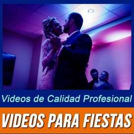 Se editan Video Clip de Fotos con Musica para Fiestas