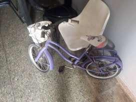 vendo bici de nena rodado 14 $2800