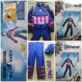 Disfraz Capitán América Talla 10