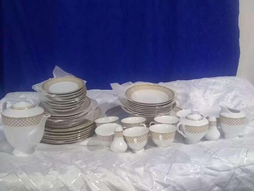Vajilla en porcelana 0