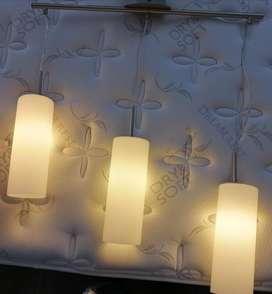 Lámpara Colgante en Cristal (negociable)