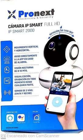 Cámara IP WiFi visión nocturna motorizada