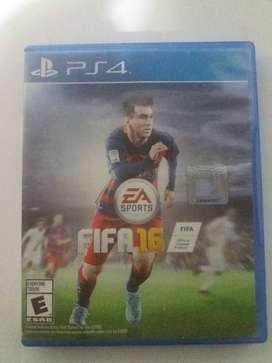 vendo FIFA 16 físico poco uso original