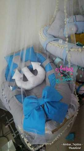 Nidos,cojines,almohada para Bebe
