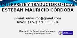 Traduccción e Intepretación Oficial