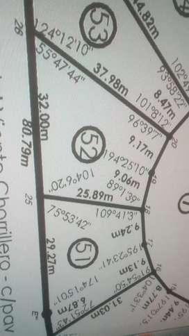 """Vendo terreno en Juana Koslay, barrio privado """"El Campestre"""""""