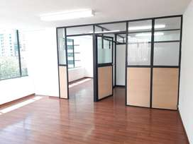 // Hermosa Oficina en Arriendo de 72 m2, Sector La Carolina