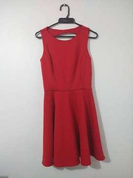 Vestido Rojo marca Julio (Talla 2/ S)