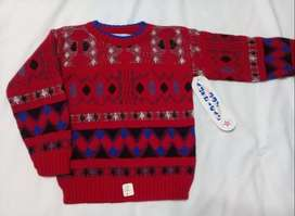 Sweater infantil NUEVO talles 4 y 6