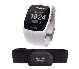 Smartwatch Polar M400 Blanco inc. Banda Cardiaca