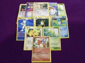 161 cartas de Pokémon