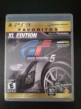 Gran Turismo 5 Xl Play 3 Ps3 Cambio o Vendo