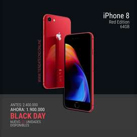Iphone 8 nuevos RED