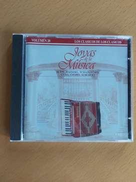 CD joyas de la música volumen 20 clásico
