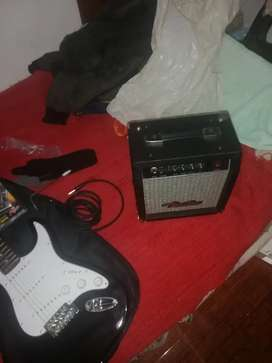 Cambio guitarra eléctrica por computador portátil