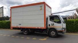 camion mitsubishi 2006 y furgón nuevo en llanta do todo original