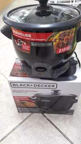 Olla arrocera marca black decker