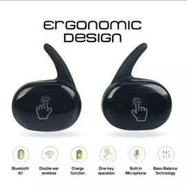 Auriculares táctiles inalambricos Para estrenar Color negro