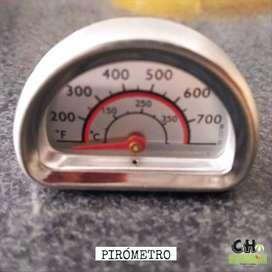 Pirómetro para Hornos - Bulbo Largo 8cm