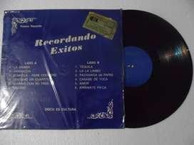 Unknown Artist – Recordando Exitos. Lp. Vinilo.