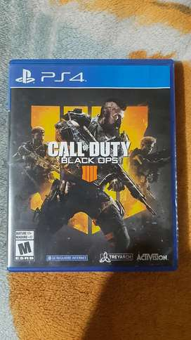 Vendo Call Of Dutty Black ops 4