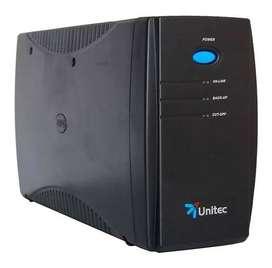 Ups Unitec Jnp-u 650 8 Tomas Proteccion 15 Minutos