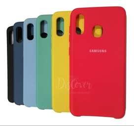 Funda Silicone Case Silky Soft P/ Samsung A20s Original