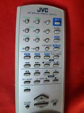 Control remoto JVC RM-SMXJ10U AUDIO