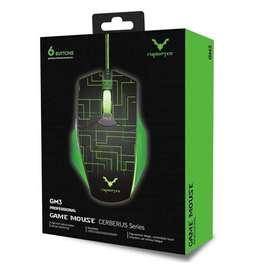 Mouse Gamer Gm3 Wesdar 3200dpi 6 Botones Luz Led