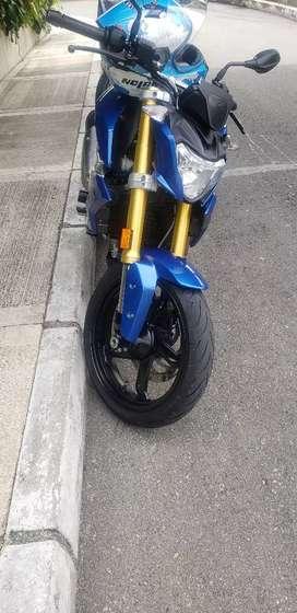 Se vende moto wmw 310r rn excelente estado. Como nueva, se recibe moto de menor valor