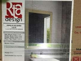 Se vende espejo de baño nuevo!