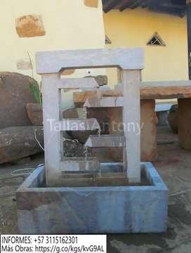 Fuente Moderna, En Piedra Barichara