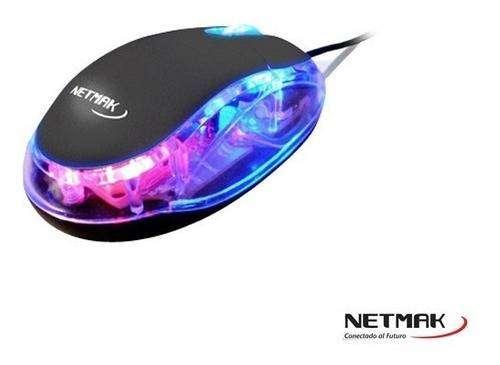 Mouse luminoso netmak