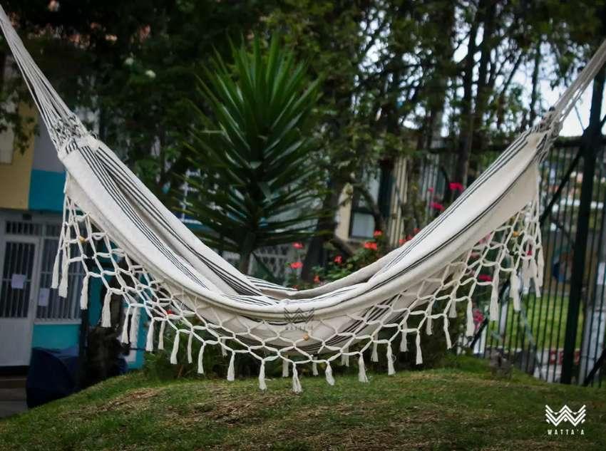 Hamacas Colombianas en algodón