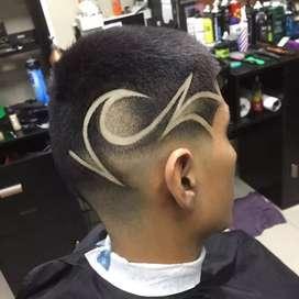 Barbero o estilista Hombre y manicurista