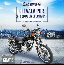 Promocion Limitada Moto OROMOTO   IMPORTADORA CHIMASA