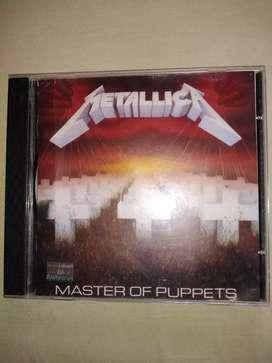 Vendo CD de metallica