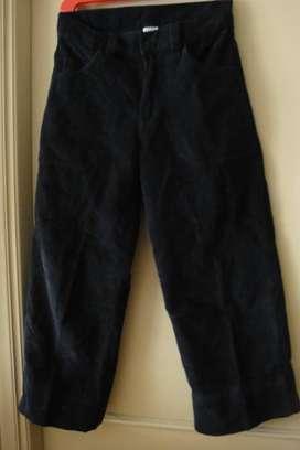 Pantalón de corderoy talle 10