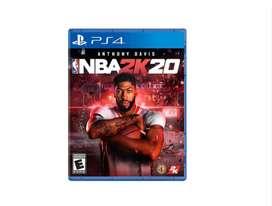 Juego Playstation 4 Sony Nba 2k20 Ps4