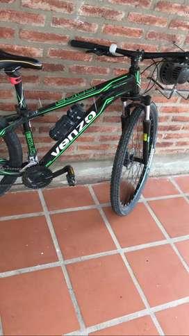Bici venzo poco uso