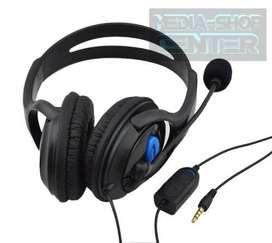 Gaming Headphone Para Ps4 Auriculares 3.5 Volumen