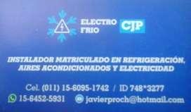 Instalador y reparador matriculado de aires acondicionados